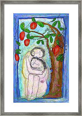 Eden Framed Print by Ian Roz