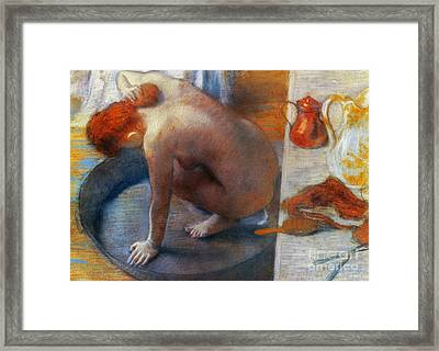 Edgar Degas: The Tub, 1886 Framed Print by Granger