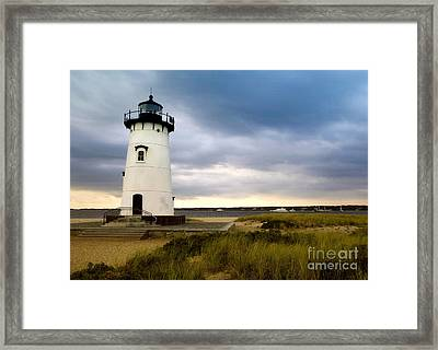 Edgartown Lighthouse Cape Cod Framed Print by Matt Suess