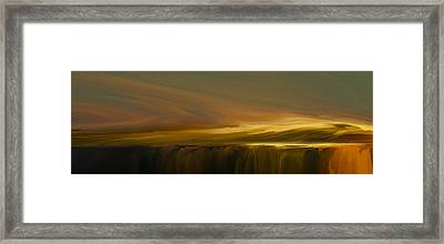 Edge Of Reality Framed Print by Lonnie Christopher