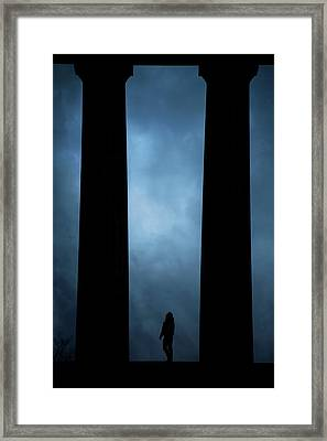 Edinburgh Framed Print by Cambion Art