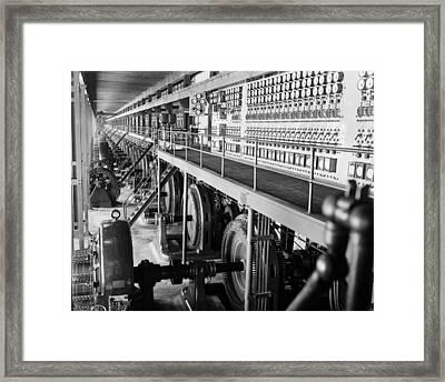 Edison Sault Power Plant At Sault Ste Framed Print by Everett