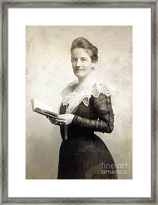 Edith Roosevelt, First Lady Framed Print by Science Source