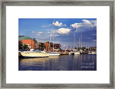 Ego Alley Annapolis Framed Print by Thomas R Fletcher