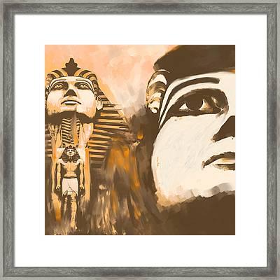 Egypt 156 1  Framed Print by Mawra Tahreem