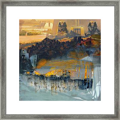 Egyptian Culture 46d Framed Print by Corporate Art Task Force