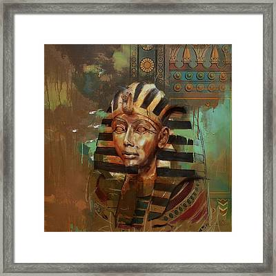 Egyptian Culture 52 Framed Print by Corporate Art Task Force
