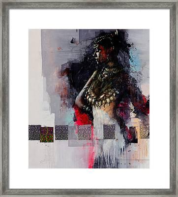 Egyptian Culture 80b Framed Print by Maryam Mughal