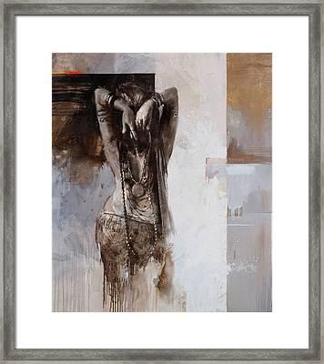 Egyptian Culture 85 Framed Print by Maryam Mughal