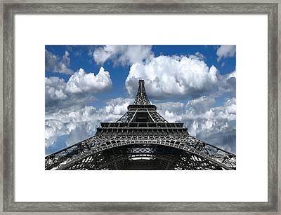 Eiffel Forever Framed Print by Daniel Hagerman