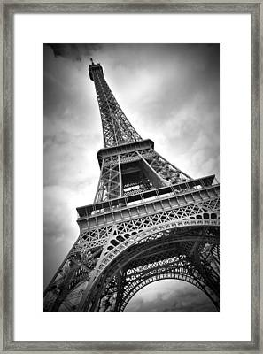 Eiffel Tower Dynamic Framed Print by Melanie Viola
