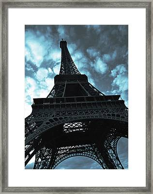 Eiffel Tower Framed Print by Fine Arts