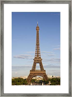 Eiffel Tower Framed Print by Melanie Viola
