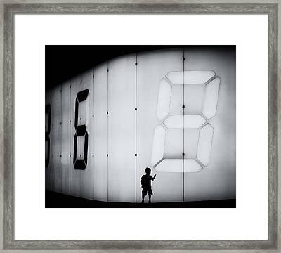 Eight Framed Print by Shigehiro Ono