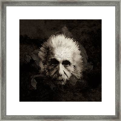 Einstein Framed Print by Laurence Adamson