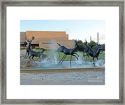 Eiteljorg Museum Framed Print by Steve  Gass