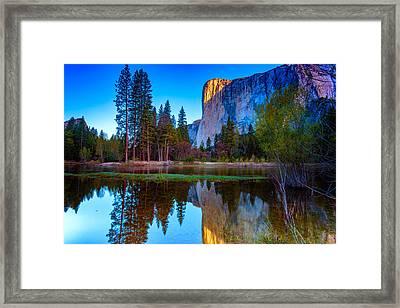 El Capitan Framed Print by Rick Berk