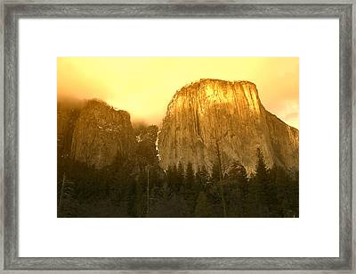 El Capitan Yosemite Valley Framed Print by Garry Gay