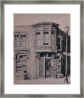 El Castillo Framed Print by Candy Mayer