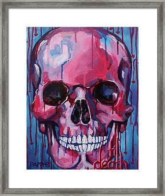 El Corazon Framed Print by Julia Pappas