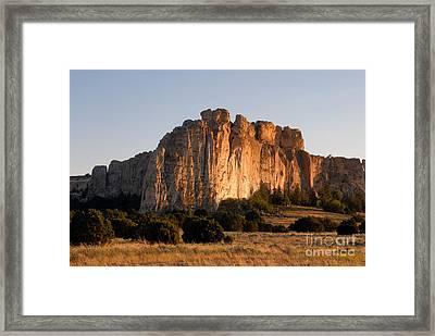 El Morro Framed Print by David Lee Thompson