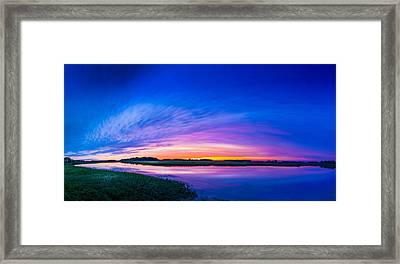 El Nino Sky Framed Print by Marvin Spates