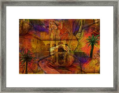 El Carrusel...after Picasso Framed Print by Paul Sutcliffe
