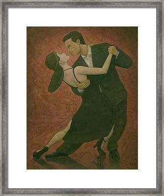 El Tango Framed Print by Steve Mitchell