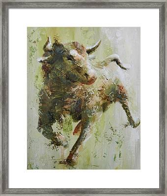 El Toro Framed Print by John Henne