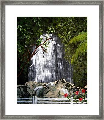 El Yunque  Framed Print by Gloria E Barreto-Rodriguez
