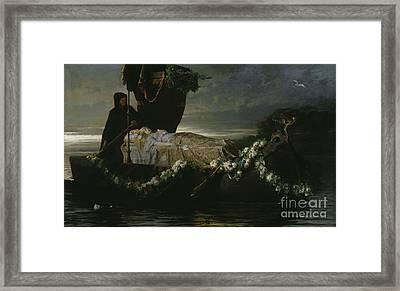 Elaine Framed Print by Tobias Edward Rosenthal