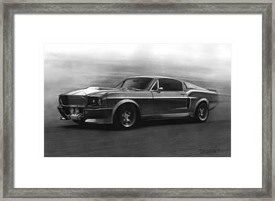 Eleanor  Gt 500 Framed Print by Tim Dangaran