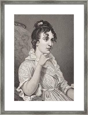 Eleanor Parke Custis Lewis 1779 - 1852 Framed Print by Vintage Design Pics