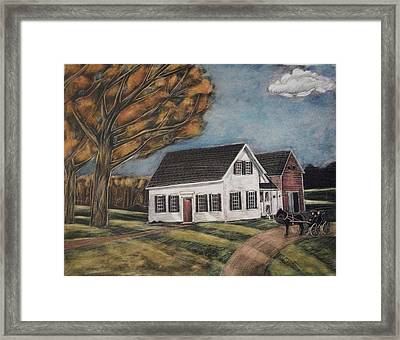 Eleanor's House Framed Print by Grace Keown