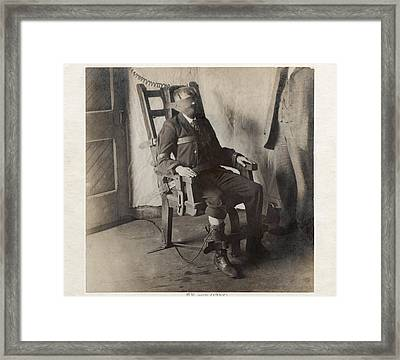 Electric Chair, 1908 Framed Print by The Branch Librariesnew York Public Library
