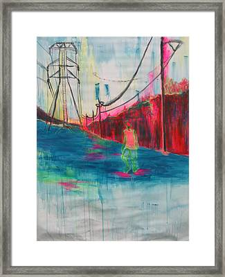 Electric Feel Framed Print by Moby Kane