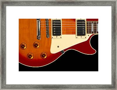 Electric Guitar 4 Framed Print by Mike McGlothlen