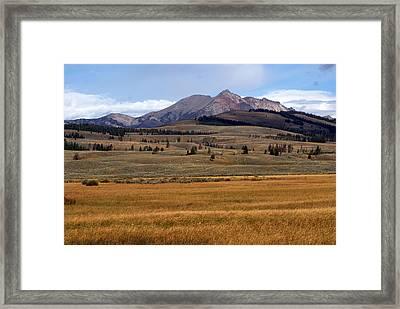 Electric Peak 2 Framed Print by Marty Koch