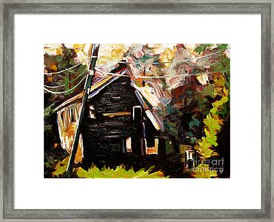 Electrical Atmosphere Framed Print by Charlie Spear