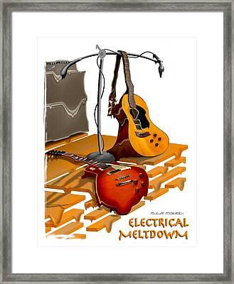 Electrical Meltdown Se Framed Print by Mike McGlothlen