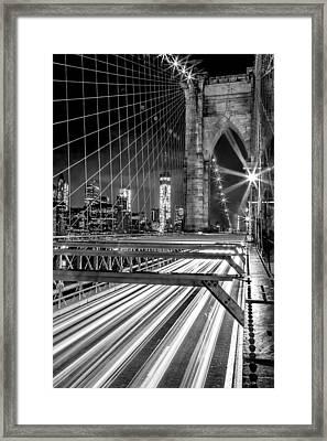 Electrify Framed Print by Az Jackson