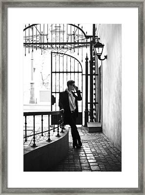 Elegance Framed Print by Joanna Jankowska