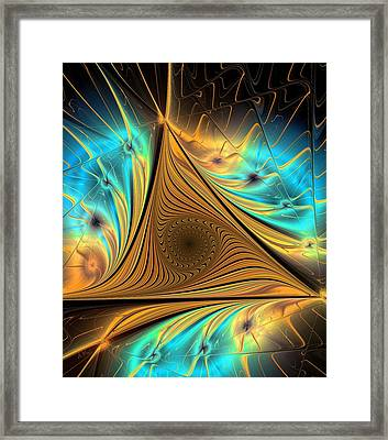 Element Framed Print by Anastasiya Malakhova