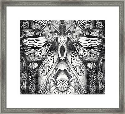 Elemental Nature Framed Print by Mellissa Bushby