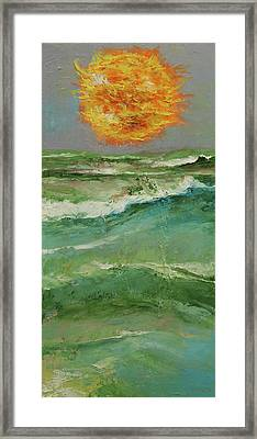Elements Framed Print by Michael Creese