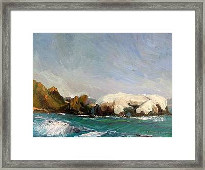 Elephant Rock II Framed Print by Thomas Glass Phinnessee