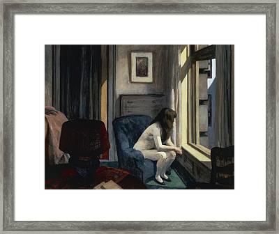 Eleven Am Framed Print by Edward Hopper