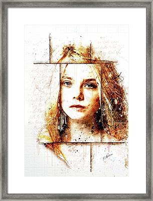 Eliannah In Spring Framed Print by Gary Bodnar