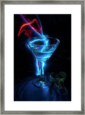 Elixir Of The Gods Framed Print by Barbara  White