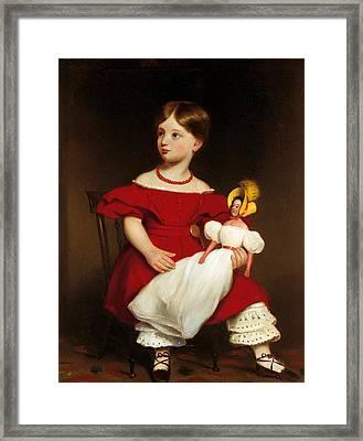 Eliza Langhorne Framed Print by Mountain Dreams